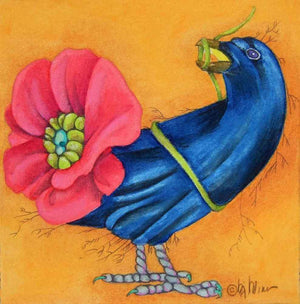 BJ Briner-Sorrel Sky Gallery-Print-Black Bird Brahms
