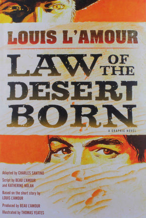 Books-Sorrel Sky Gallery-Book-Law Of The Desert Born