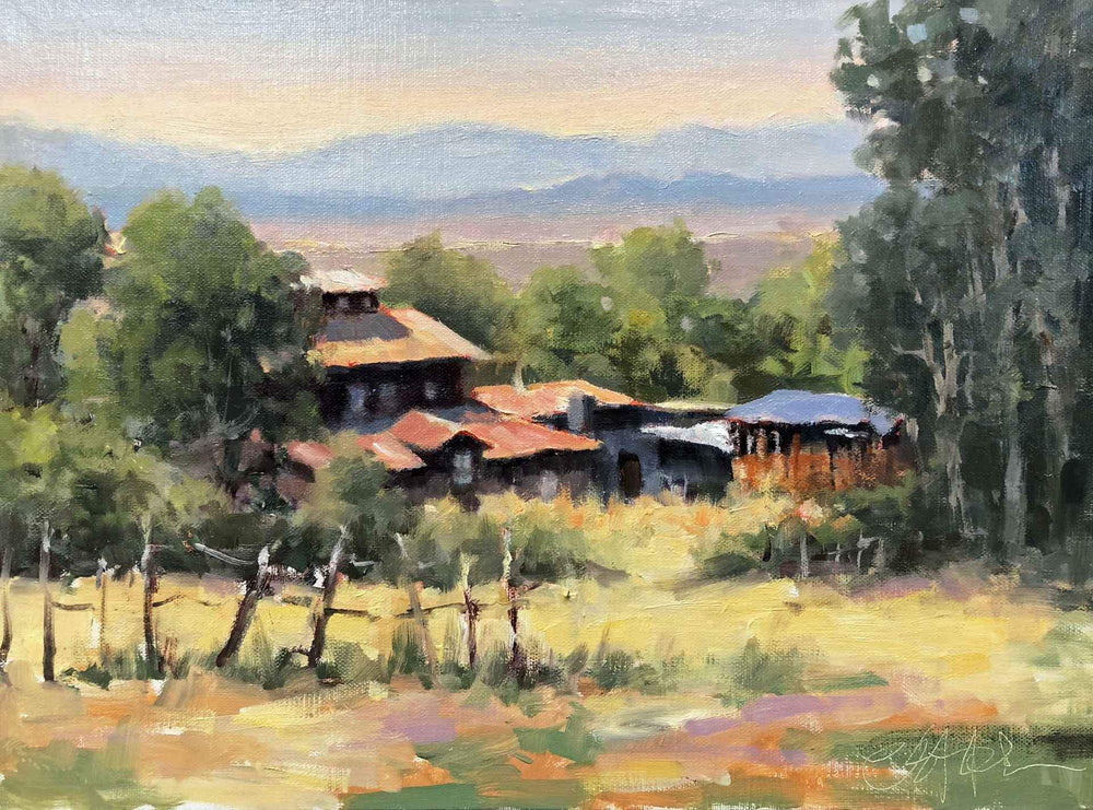 Cheryl St. John-Sorrel Sky Gallery-Painting-Arroyo Seco Overlook