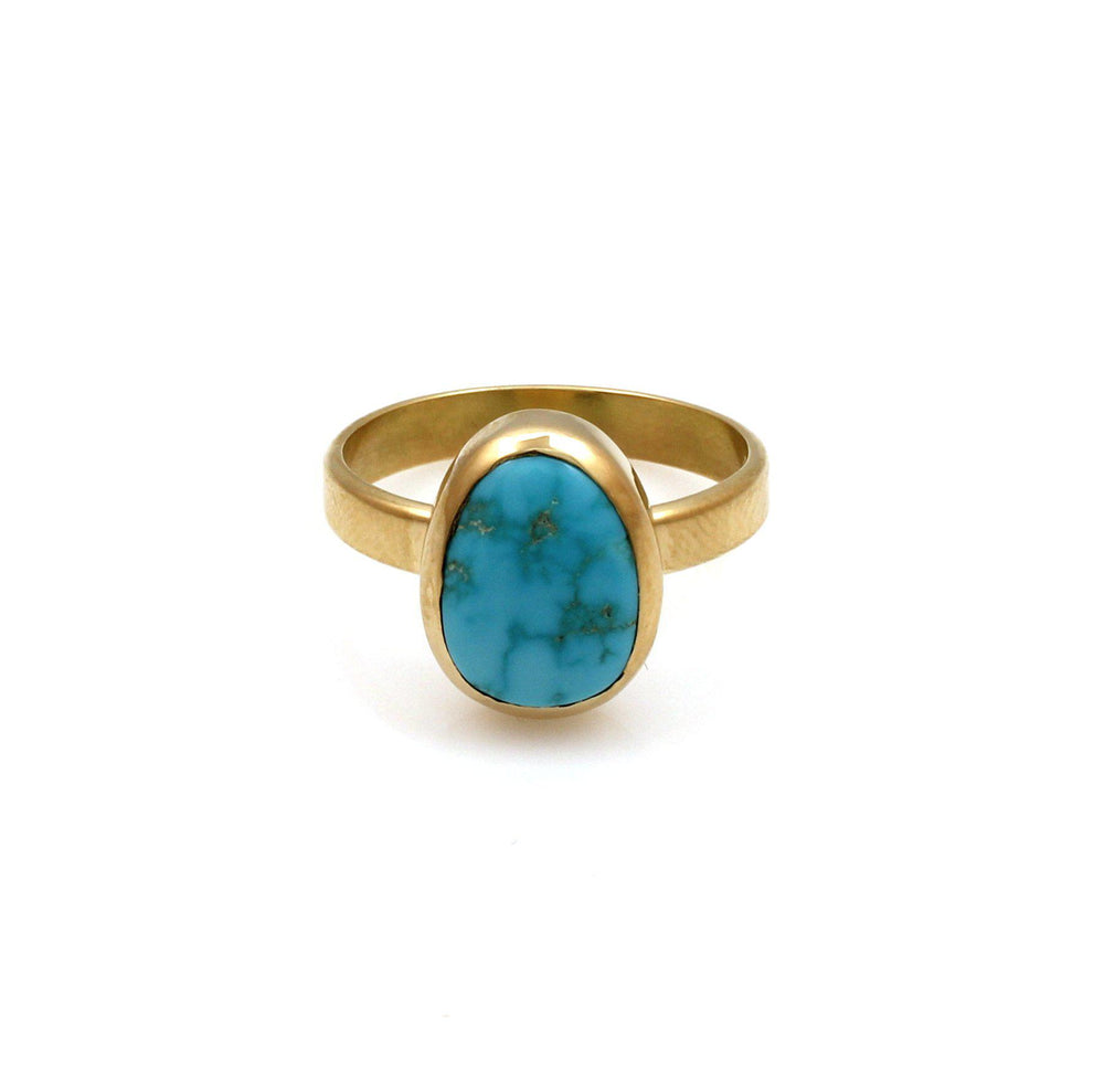 Long Mountain Turquoise Ring