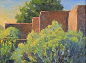 Christopher Miller-Sorrel Sky Gallery-Painting-Early Morning Chamisa