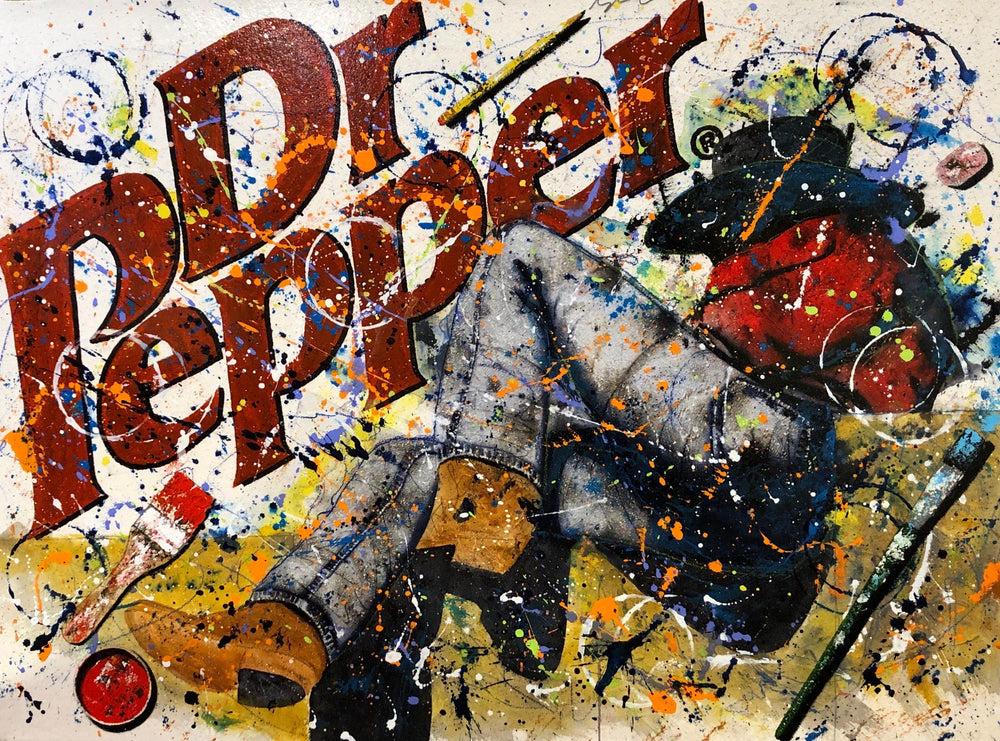 Dr. Pepper's Lonely Hearts' Club-Painting-Chuck Middlekauff-Sorrel Sky Gallery