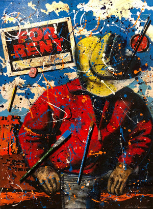 Rent A Wrangler-Painting-Chuck Middlekauff-Sorrel Sky Gallery