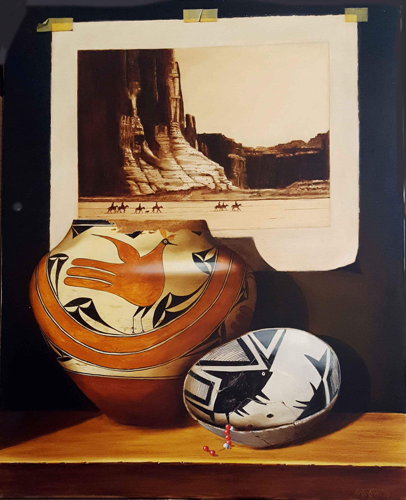 Canyon De Chelly And Pottery