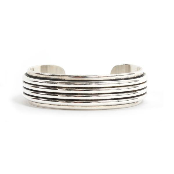 4 Round Wire Plain Edge Bracelet