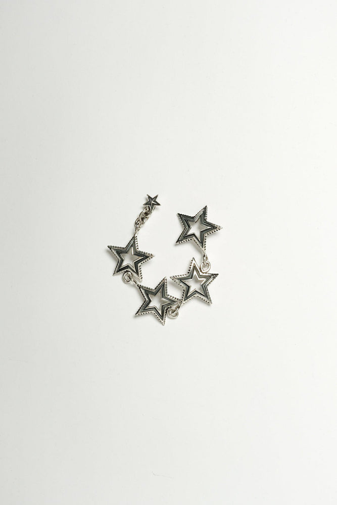 4 Star Cut Out Bracelet