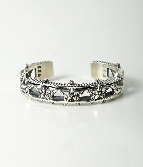 Barbed Star in Star Bracelet