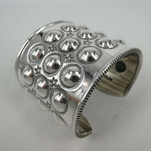 Bubble Wrap Moon Cuff Bracelet-Jewelry-Cody Sanderson-Sorrel Sky Gallery