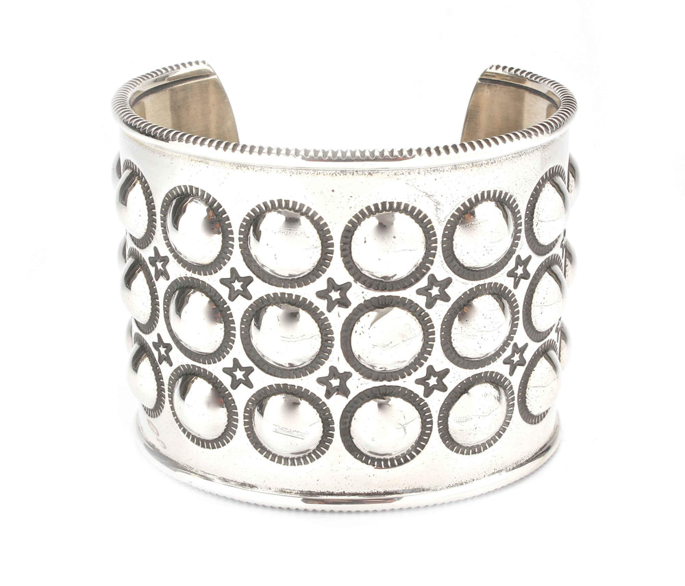 Bubble Wrap Moon Cuff Bracelet