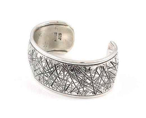 "Cat Scratch 1 1/2"" Cuff Bracelet-Jewelry-Cody Sanderson-Sorrel Sky Gallery"