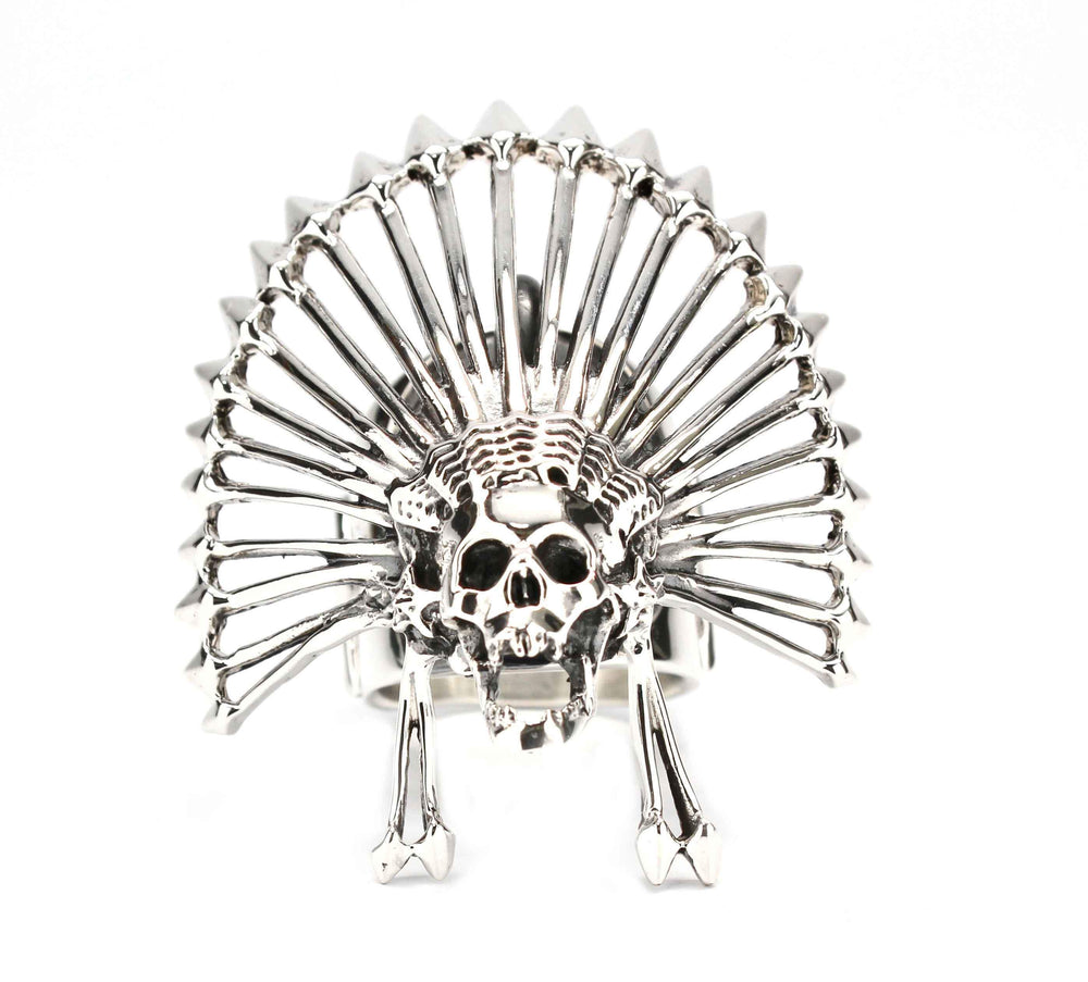 Chief Kill Hater Ring-Jewelry-Cody Sanderson-Sorrel Sky Gallery