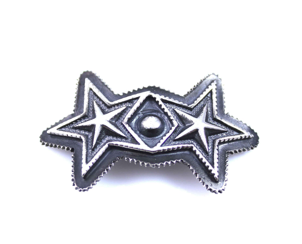 Double Sheriff Star Hair Tie