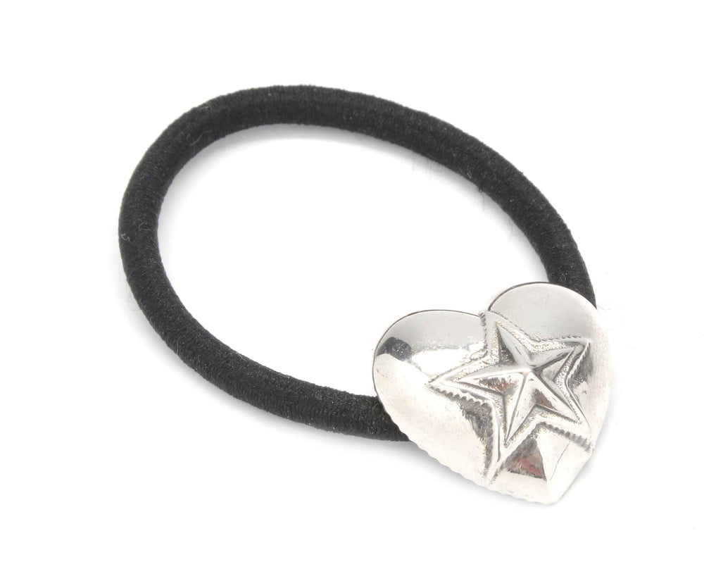 Heart With Star Hair Tie