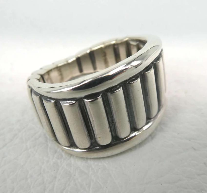 Log Cabin Ring