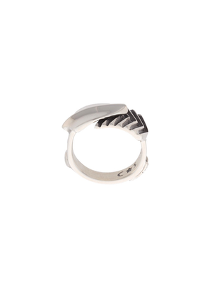 Sterling silver arrow ring by cody sanderson