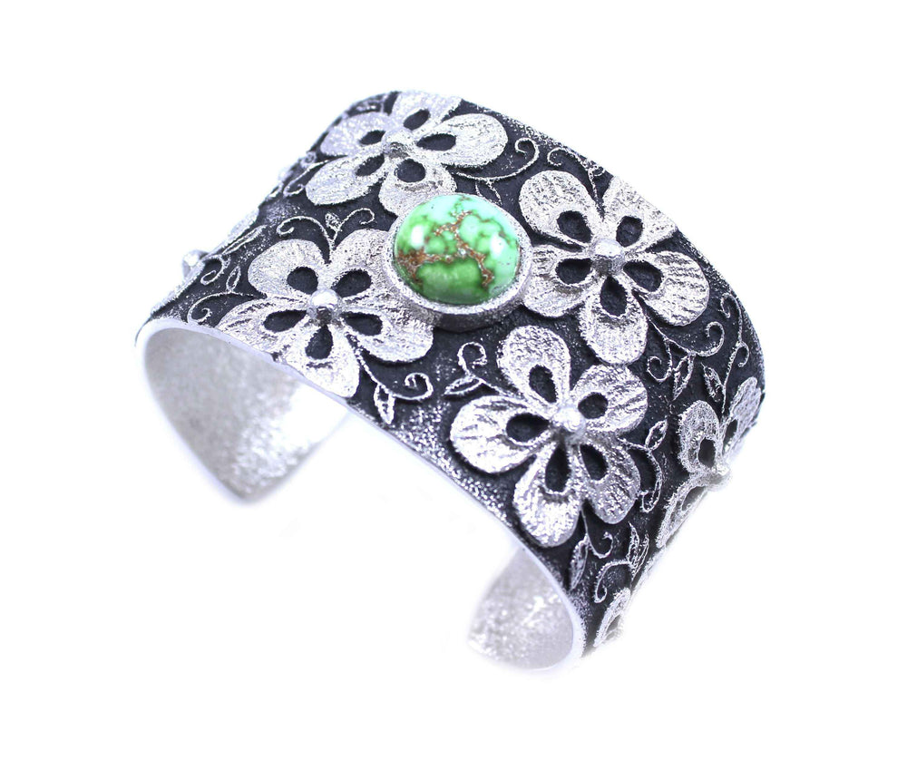 Carico Lake Medium Floral Cuff Bracelet