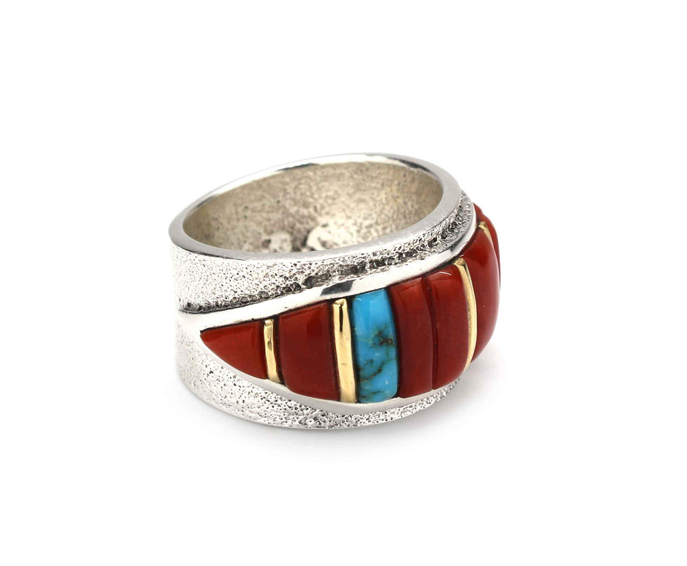 Cornrow Inlay Ring