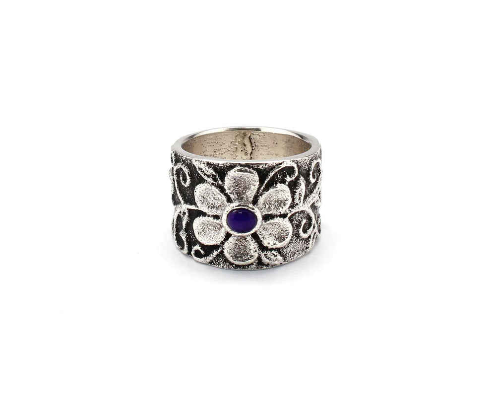 Floral Band Ring