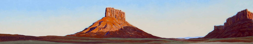 David Knowlton-Evening - Utah-Sorrel Sky Gallery-Painting