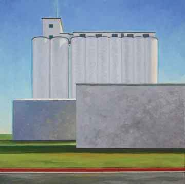 David Knowlton-Scott City, KS 1-Sorrel Sky Gallery-Painting