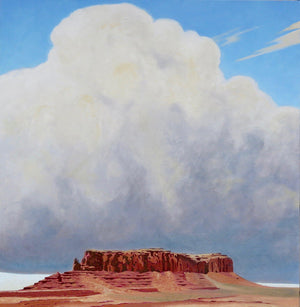 David Knowlton-Sentinel Mesa-Sorrel Sky Gallery-Painting