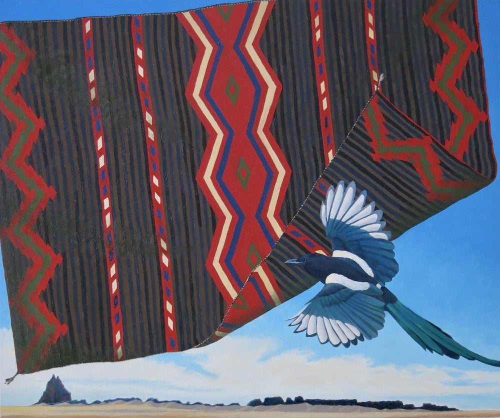 Shiprock And Magpie