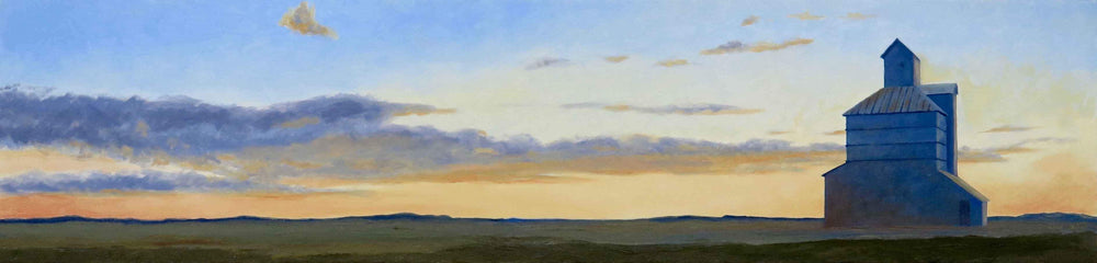 David Knowlton-Trenton, Kansas-Sorrel Sky Gallery-Painting
