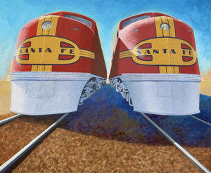 Twins-Painting-David Knowlton-Sorrel Sky Gallery