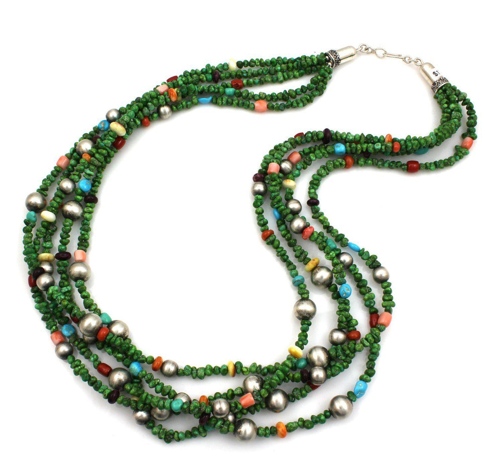 5 Strand Sonoran Turquoise Necklace