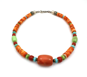Beaded Necklace-Don Lucas-Sorrel Sky Gallery-Jewelry