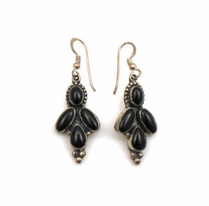 Black Onyx Earrings-Don Lucas-Sorrel Sky Gallery-Jewelry