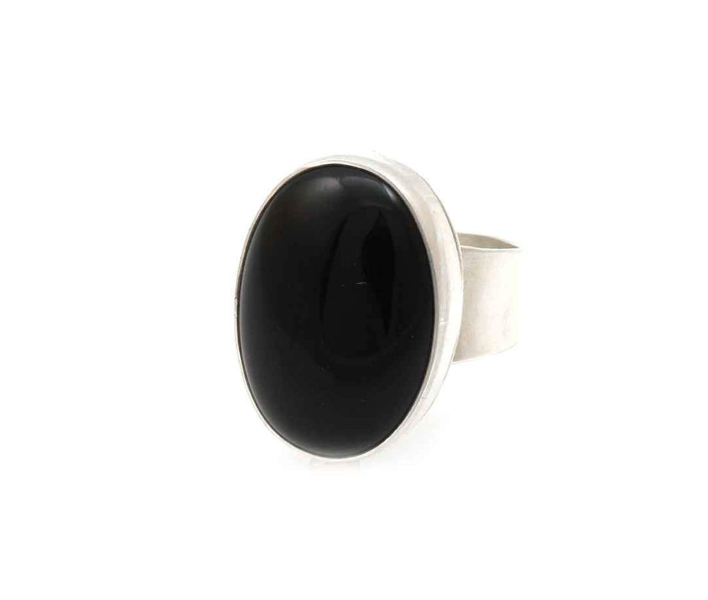Black Onyx Ring-Jewelry-Don Lucas-Sorrel Sky Gallery