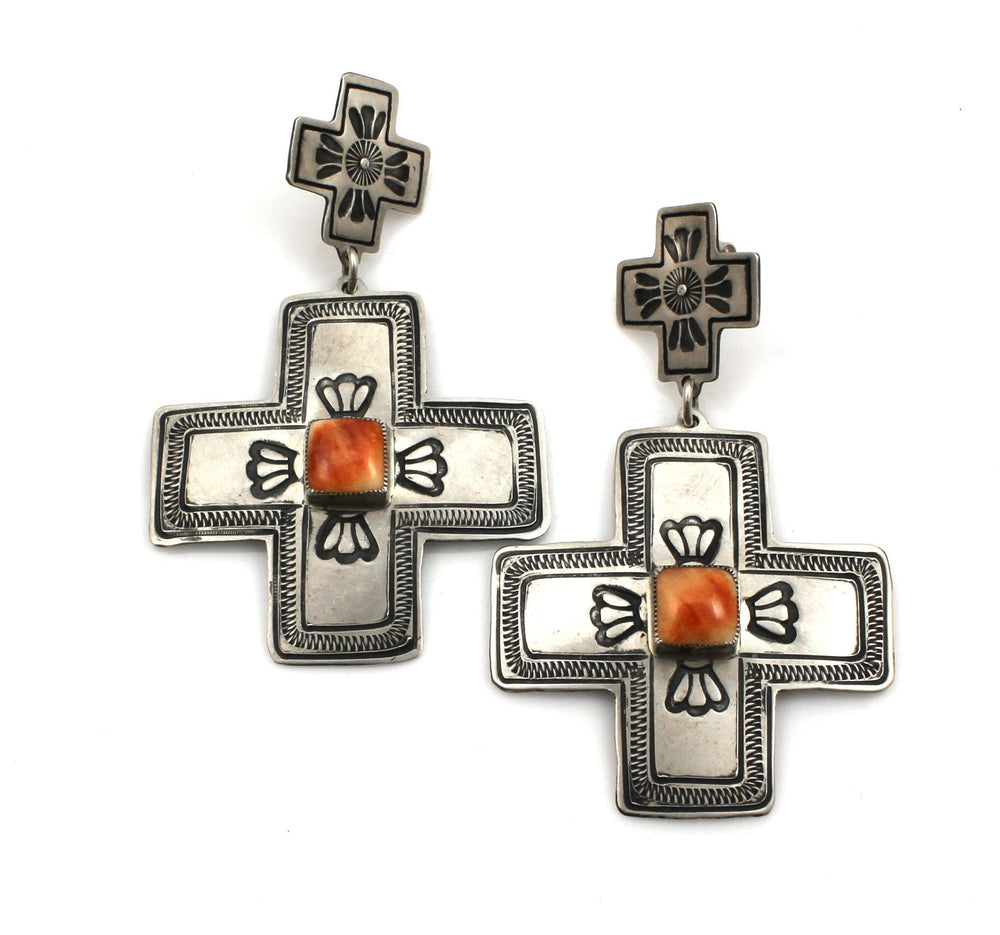 Cross Earrings-Don Lucas-Sorrel Sky Gallery-Jewelry