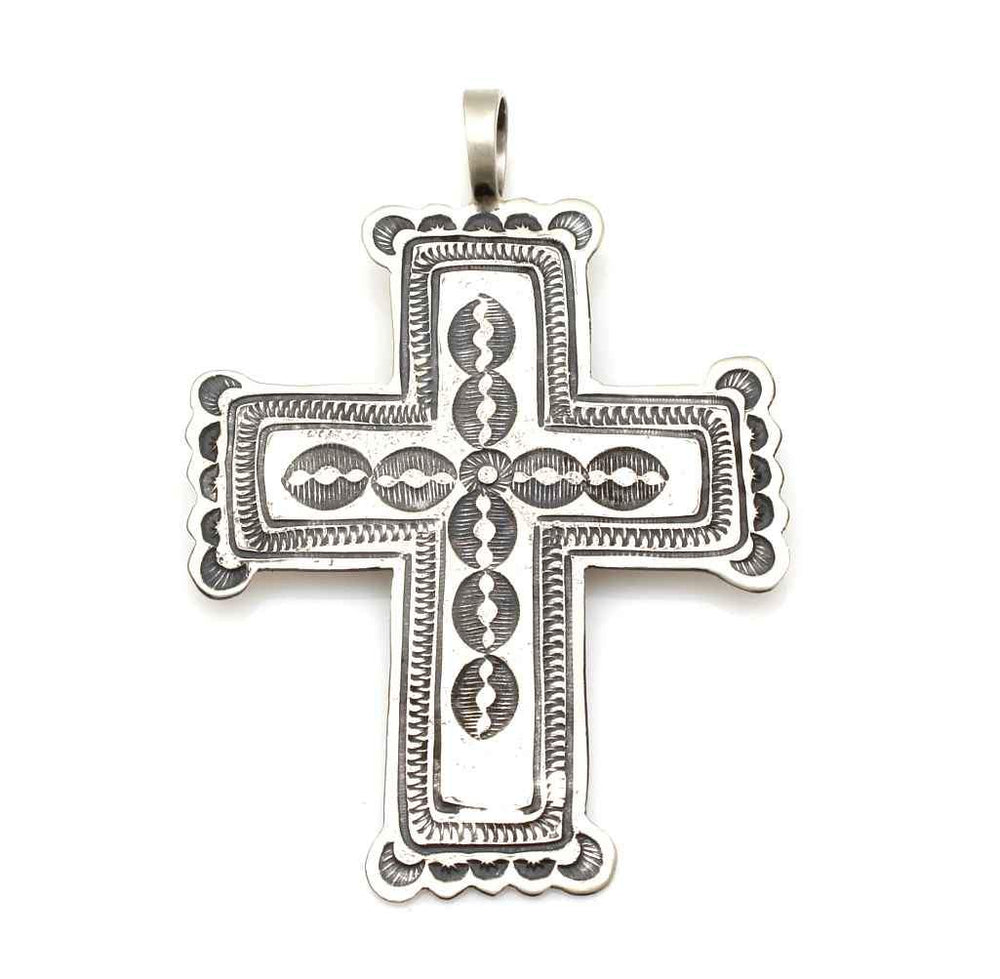 Cross Pendant-Jewelry-Don Lucas-Sorrel Sky Gallery