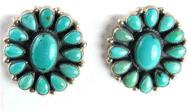 Oval Earrings-Don Lucas-Sorrel Sky Gallery-Jewelry