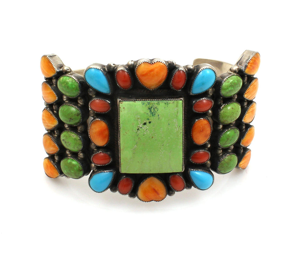 Square Cluster Bracelet-Don Lucas-Sorrel Sky Gallery-Jewelry