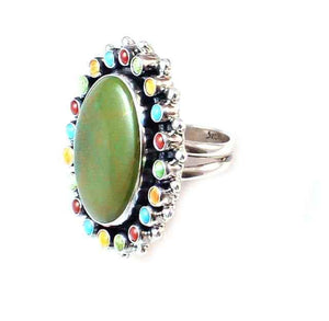 Turquoise Ring-Don Lucas-Sorrel Sky Gallery-Jewelry