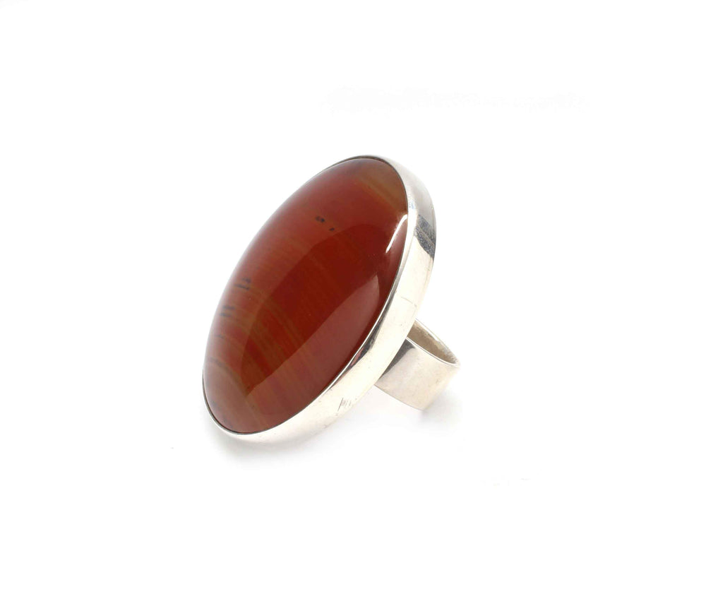 Doug Magnus-Agate Round Ring-Sorrel Sky Gallery-Jewelry
