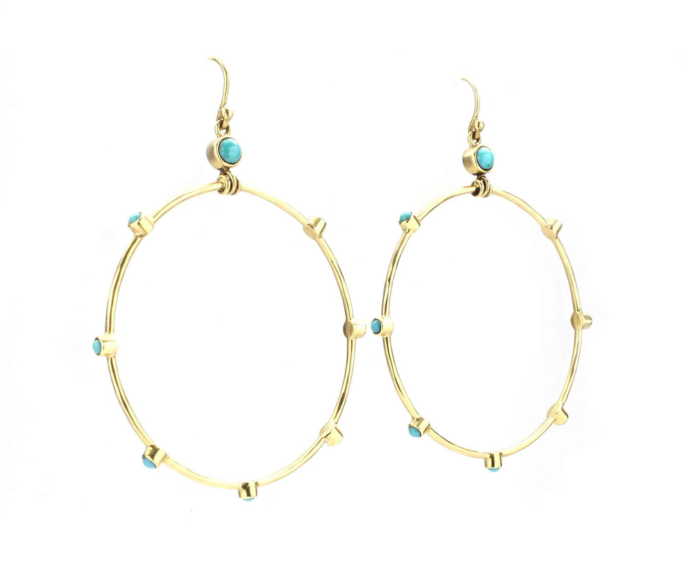 Cerrillos Hoop Earrings
