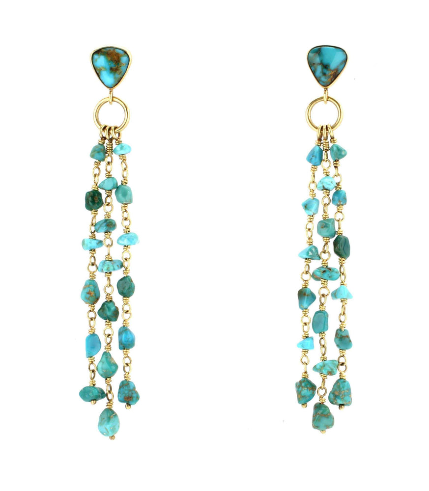 Cerrillos Nugget Earrings