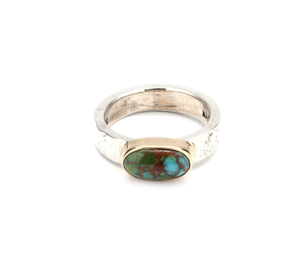 Doug Magnus-Cerrillos Turquoise Ring-Sorrel Sky Gallery-Jewelry