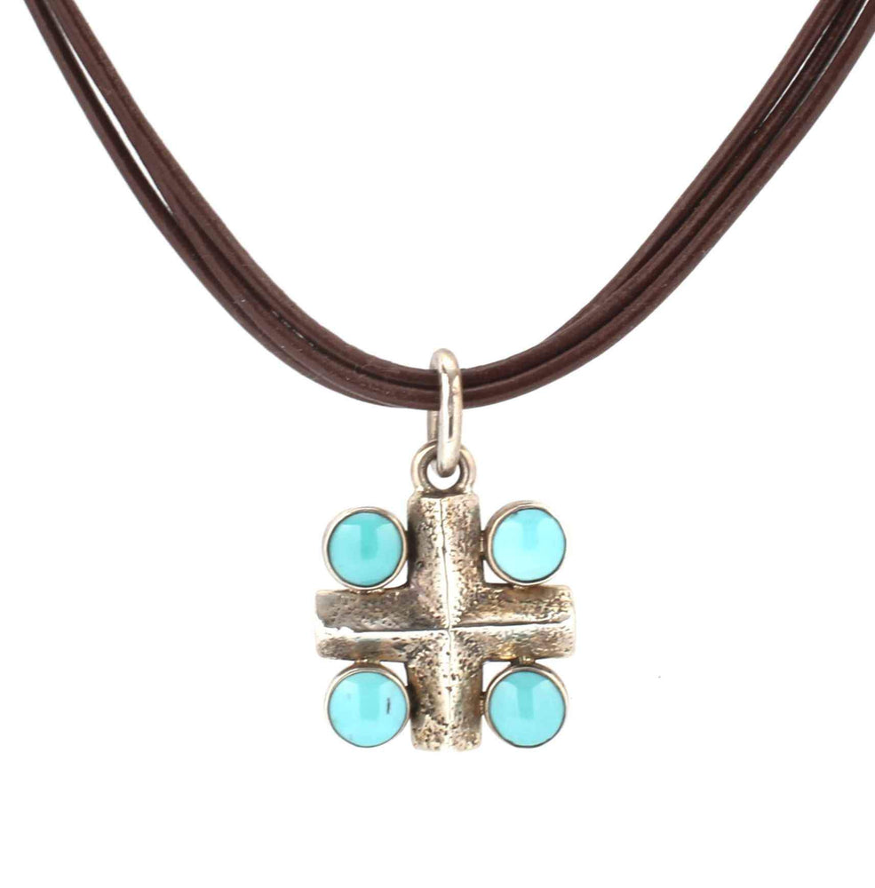 Cross Link Necklace