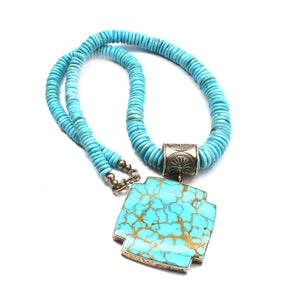 Doug Magnus-Cross Necklace-Sorrel Sky Gallery-Jewelry