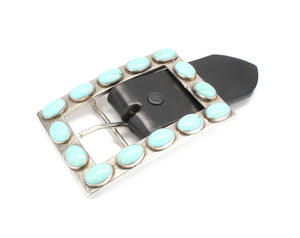 Doug Magnus-Large Turquoise Buckle-Sorrel Sky Gallery-Jewelry