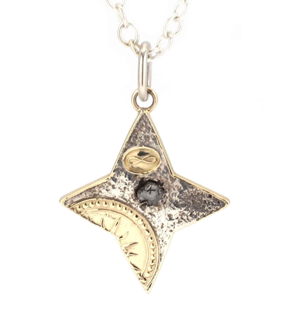 Primal Diamond Morning Star Pendant