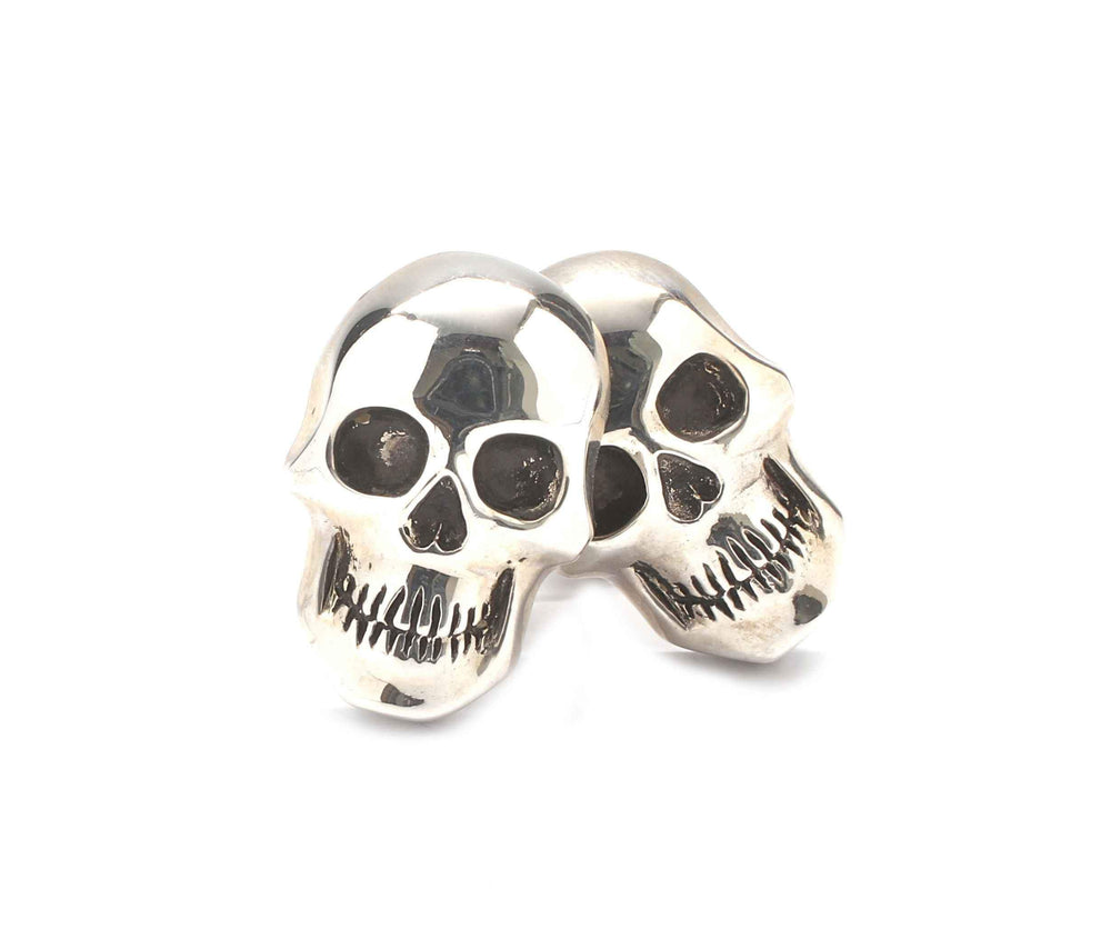 Doug Magnus-Skull Cuff Links-Sorrel Sky Gallery-Jewelry