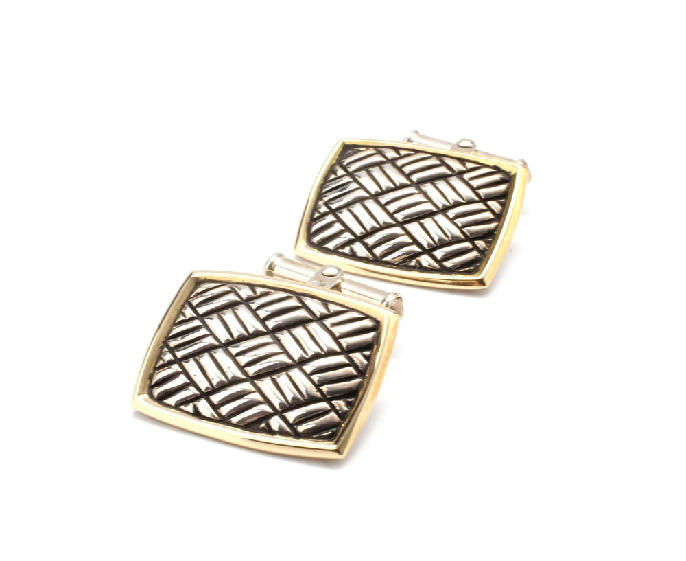 Doug Magnus-Square Cuff Links-Sorrel Sky Gallery-Jewelry