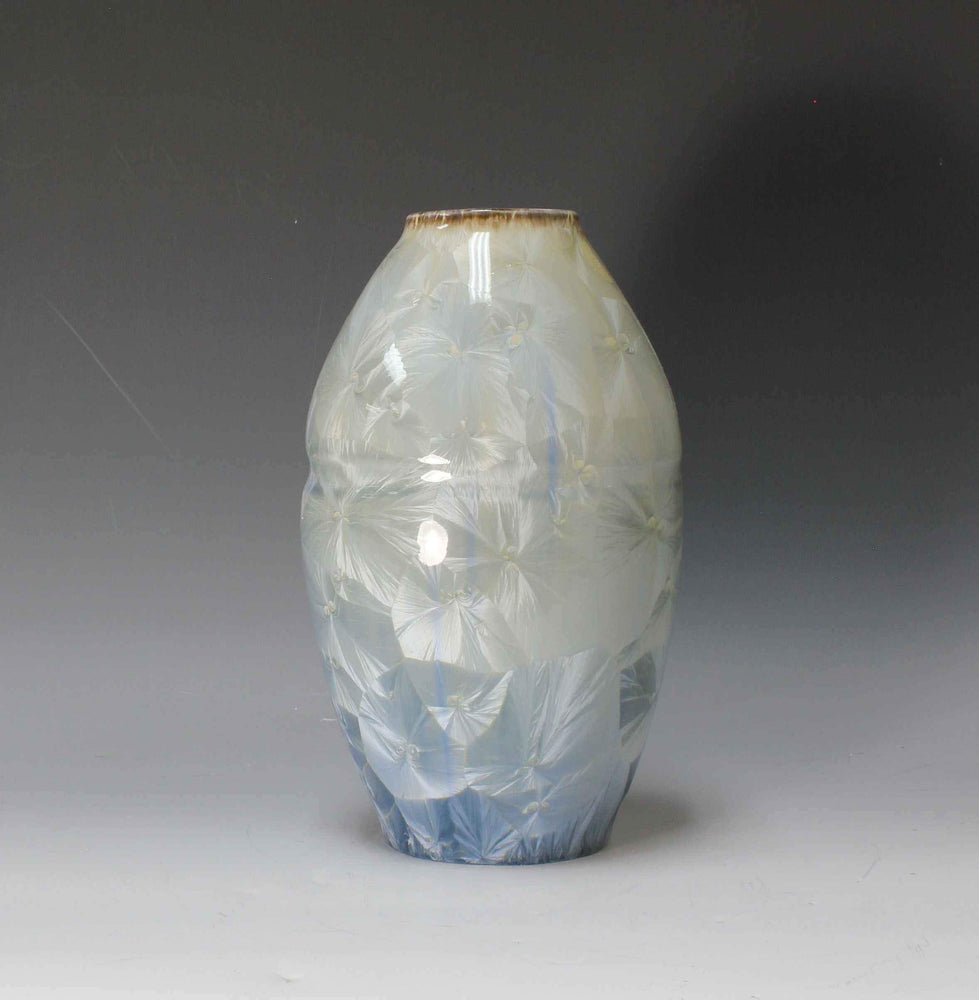 Blue And Gray Porcelain Form