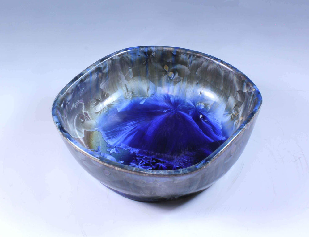 Duly Mitchell-Sorrel Sky Gallery-Pottery-Blue And Purple Porcelain Bowl