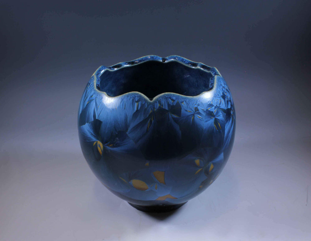 Blue Porcelain Form
